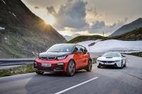 Wyniki sprzedaży EV/PHEV BMW Group w 2017r.