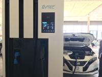 Podczas testów CHAdeMO 2.0, Nissan Leaf ładował się mocą ponad 100 kW