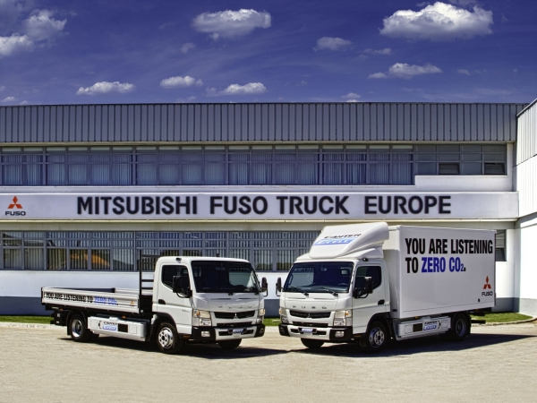 Fuso Canter E-CELL 2014