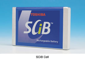 Ogniwo SCiB (Super Charge ion Battery) 4,2 Ah 2,4 V [1]