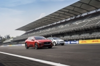 Jaguar I-PACE i Tesla Model X