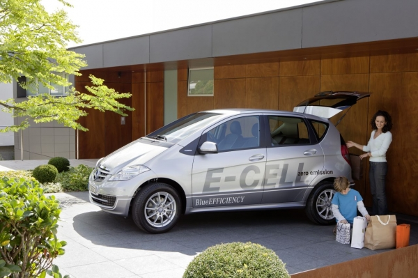 Mercedes-Benz Klasa A E-CELL