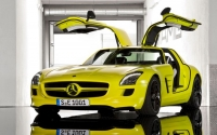 Prototypowy Mercedes-Benz SLS AMG E-Cell