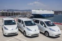 Nissan rozpoczyna dostawy e-NV200 z pakietami 40 kWh