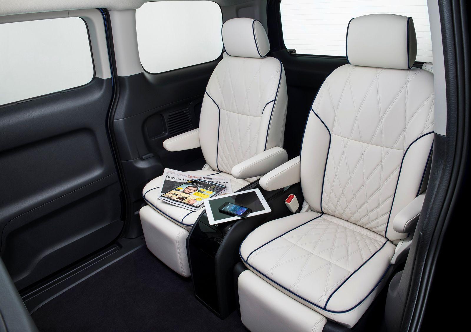 luxus(concept)version des e-nv200 - nissan e-nv200 | elektroauto forum