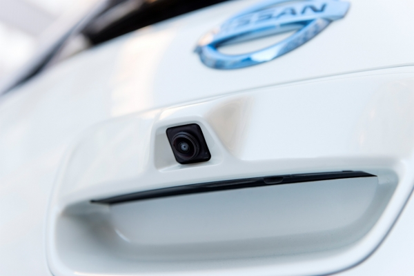 Nissan Leaf 2013 - kamera systemu Around View Monitor