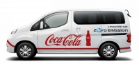 Coca-Cola Central Japan przetestuje prototyp Nissana e-NV200