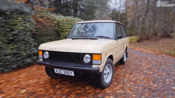 Range Rover EV - Electric Classic Cars