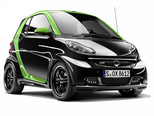 smart Brabus electric